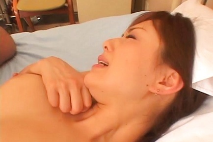 Japanese av model rides her patient boner with naughty poonanie. Japanese AV Model rides her patient boner with naughty poonanie